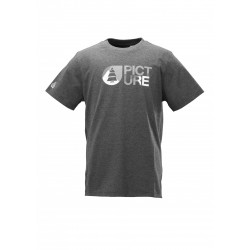 T-SHIRT PICTURE BASE PLAY - GREY