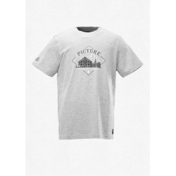 T-SHIRT PICTURE MOTION - GREY