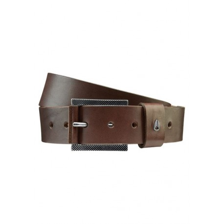 CEINTURE NIXON AMERICANA BELT II - DARK BROWN