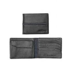 PORTEFEUILLE NIXON COASTAL ARC COIN W - BLACK / BLACK