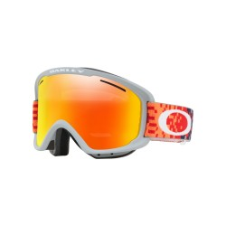 MASQUE OAKLEY O FRAME XM 2.0 PIXEL FADED RED FATHOM / FIRE IRIDIUM