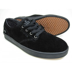 EMERICA THE ROMERO LACED BLACK SHOES
