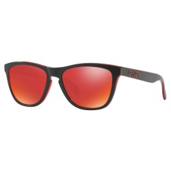 LUNETTES OAKLEY FROGSKINS - ECLIPSE RED TORCH IRIDIUM