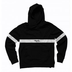 SWEAT MAGENTA HOOD 96 - BLACK