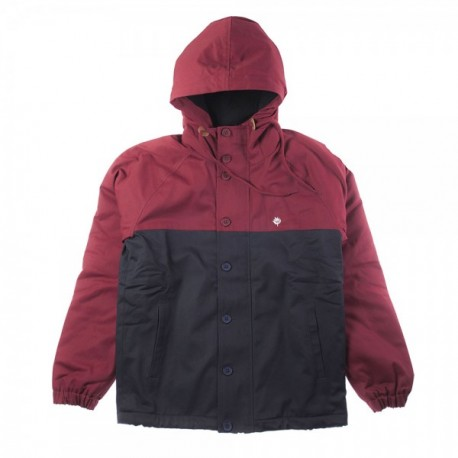 VESTE MAGENTA HEAVY HOODED COACH - TRICOLOR