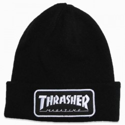 BONNET THRASHER LOGO PATCH - BLACK