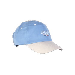 CASQUETTE JACKER FR SKATEBOARDING - BLUE CREAM