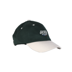 CASQUETTE JACKER FR SKATEBOARDING - GREEN CREAM