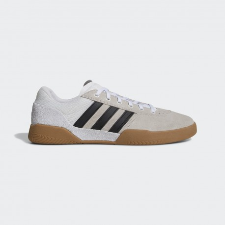 CHAUSSURES ADIDAS CITY CUP - WHITE / BLACK / GUM