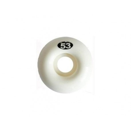 ROUES NAKED WHEELS 53 MM - WHITE