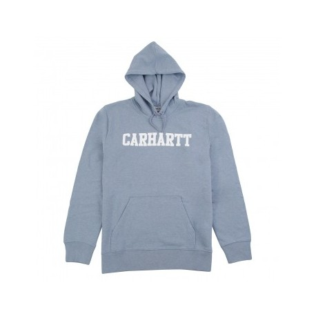 SWEAT CARHARTT WIP HOODED COLLEGE - DUSTY BLUE HEATHER
