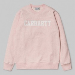 SWEAT CARHARTT WIP COLLEGE - SANDY ROSE