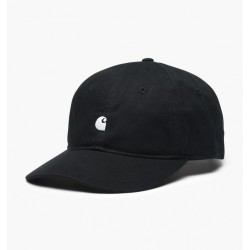 CASQUETTE CARHARTT MADISON LOGO CAP - BLACK