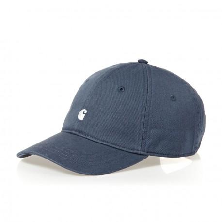 CASQUETTE CARHARTT MADISON LOGO CAP - STONE BLUE