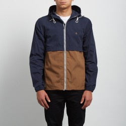 VESTE VOLCOM HOWARD HOODED - NAVY