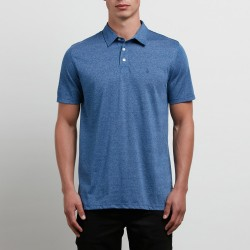POLO VOLCOM WOWZER - BLUE DRIFT