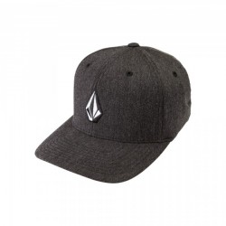CASQUETTE VOLCOM FULL STONE XFIT - CHARCOAL HEATHER