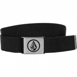 CEINTURE VOLCOM CIRCLE WEB - BLACK