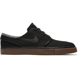 CHAUSSURE NIKE SB STEFAN JANOSKI CANVAS - BLACK ANTHRACITE GUM