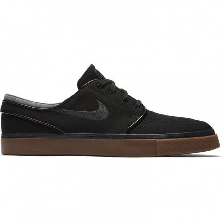 new product 3672c a182d Chaussure Nike Sb Stefan Janoski Canva - Black Anthracite Gum