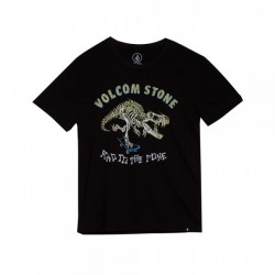 T-SHIRT VOLCOM KID RAD REX - BLACK