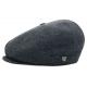 BERET BRIXTON CAP BROOD SNAP - GREY / BLACK