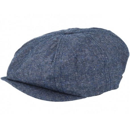 BERET BRIXTON CAP BROOD SNAP - NAVY / OFF WHITE
