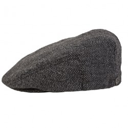 BERET BRIXTON CAP HOOLIGAN SNAP - GREY / BLACK