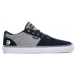 CHAUSSURE ETNIES BARGE LS - NAVY GREY SILVER