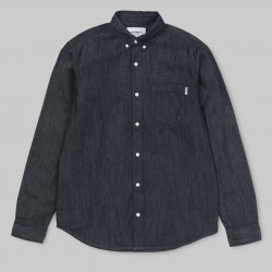 CHEMISE CARHARTT CIVIL - BLUE RINSED