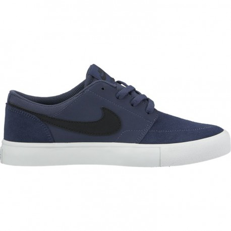 CHAUSSURES NIKE SB PORTMORE II GS - THUNDER BLUE BLACK