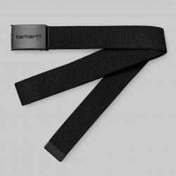CEINTURE CARHARTT CLIP TONAL - BLACK