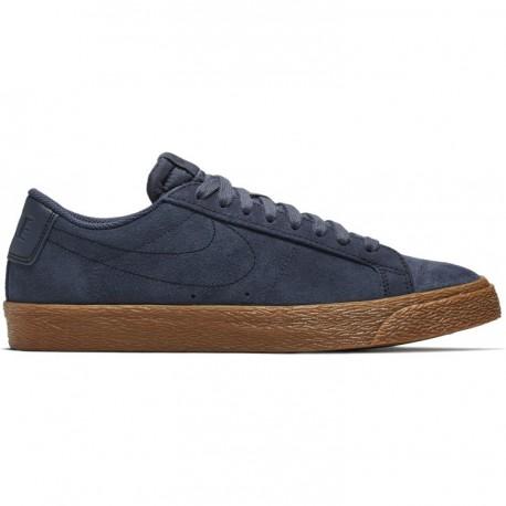 check out 579b1 19900 Chaussures Nike Sb Blazer Low - Thunder Blue Gum