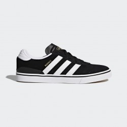 CHAUSSURE ADIDAS BUSENITZ VULC - BLACK / RUNWHITE / BLACK