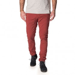 PANTALON PULL IN DENING CHINO - BORDEAUX