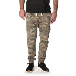 PANTALON PULL IN DENING CARGO - CAMOGREEN