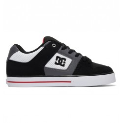 CHAUSSURES DC PURE - WHITE / BLACK / RED