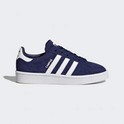 CHAUSSURE ADIDAS CAMPUS JUNIOR - BLUE / WHITE