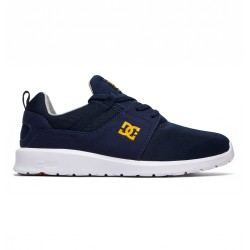 CHAUSSURES DC HEATHROW - NAVY / GOLD