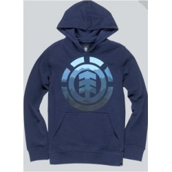 SWEAT HOODIE ELEMENT BOY LOGO FILL HO - ECLIPSE NAVY