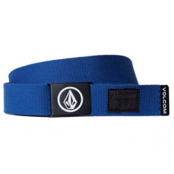 CEINTURE VOLCOM CIRCLE WEB - BLUE
