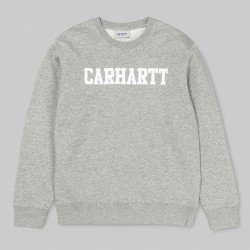 SWEAT CARHARTT WIP COLLEGE - GREY HEATHER
