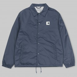 VESTE CARHARTT WIP SPORTS COACH JACKET - STONE BLUE / WAX