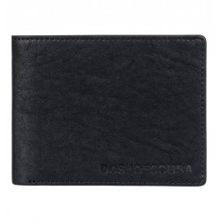 PORTEFEUILLE DC BIG MESSAGE - BLACK