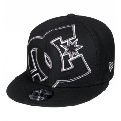 CASQUETTE DC DOUBLE UP 2018 - BLACK