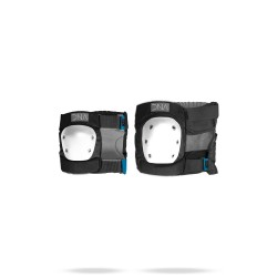 COUDIERES & GENOUILLERES DNA ORIGINAL KNEE & ELBOW PACK - BLACK