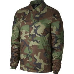 VESTE NIKE SB SHIELD COACHES - MEDIUM OLIVE/BLACK