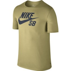 T-SHIRT NIKE SB LOGO TEE - LEMON WASH/THUNDER BLUE