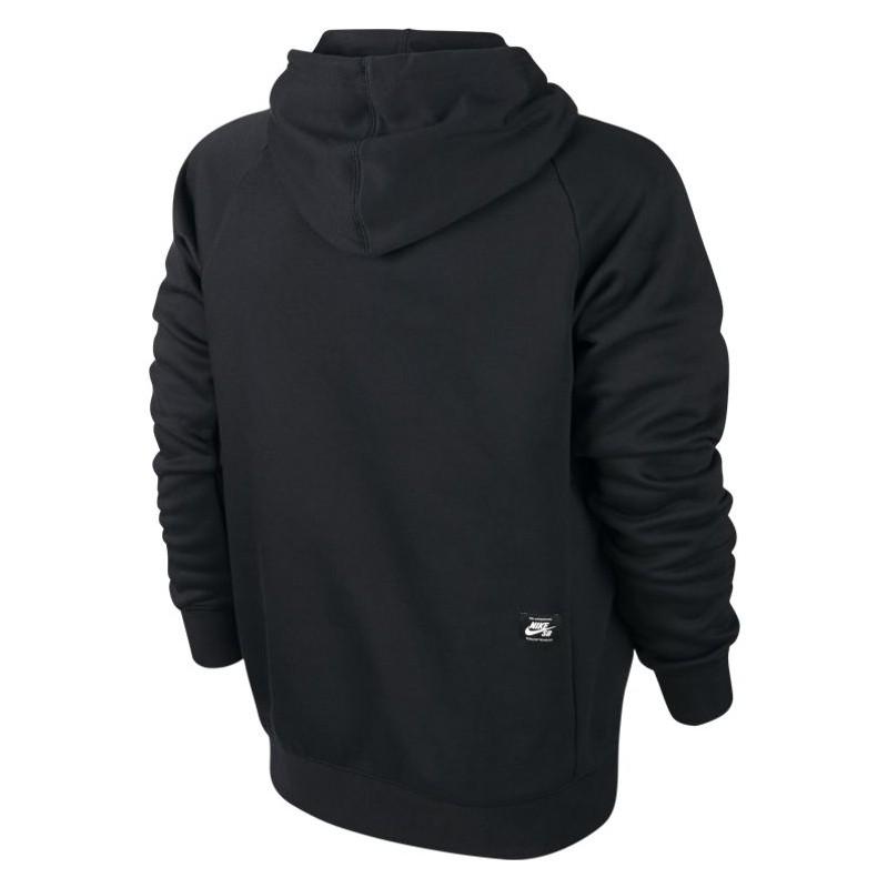5b708f2cf64b6 Sweat Nike Sb Icon Po Hoodie - Black   White