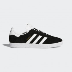 CHAUSSURE ADIDAS GAZELLE JUNIOR - BLACK / WHITE